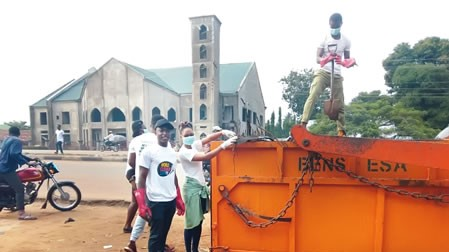 World-cleanup-Makurdi